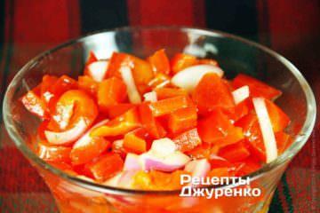 болгарський салат