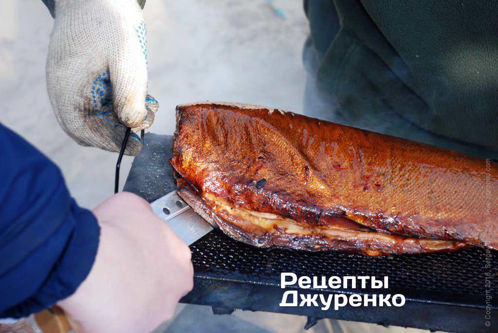 семга горячего копчения фото рецепта