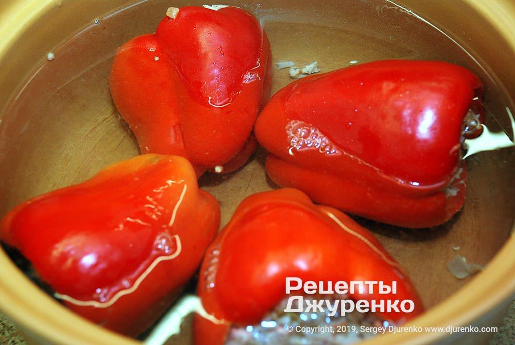 Як варити перець.