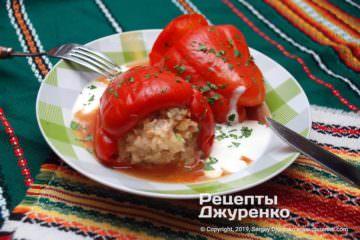 Фото рецепта фарширований перець