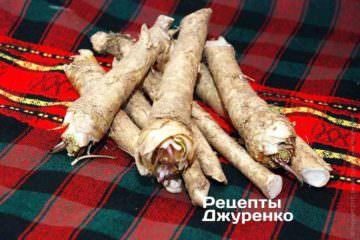 Хрен обыкновенный (Armoracia rusticana)