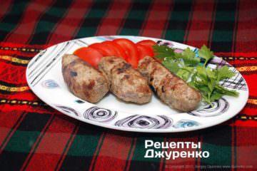 Фото рецепта домашние кебабы по-болгарски — кебабче