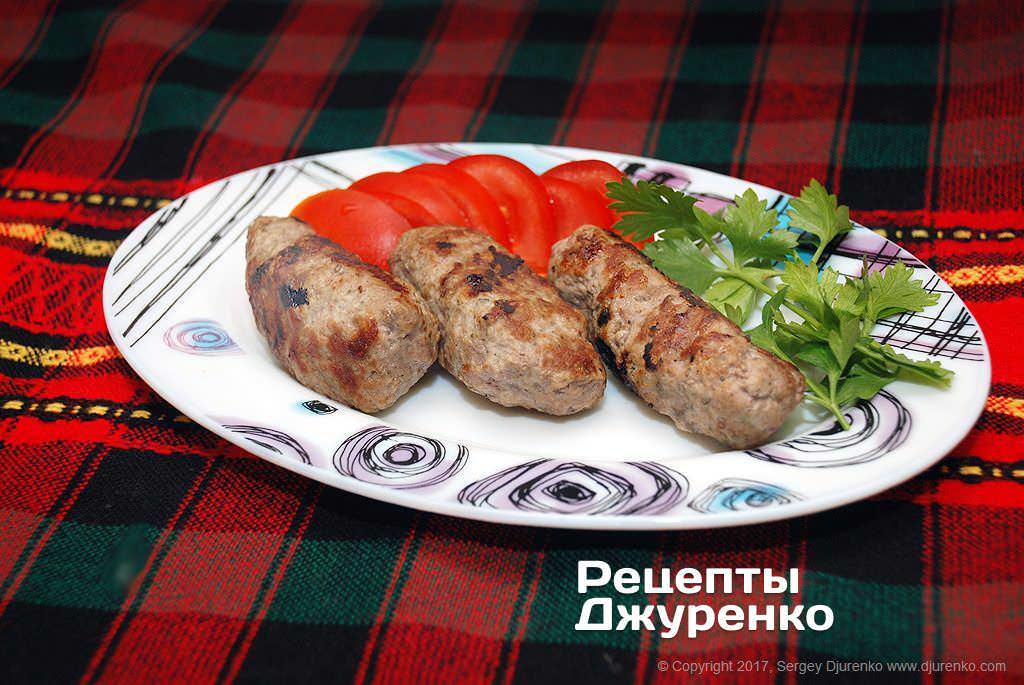 Кебабче – болгарські домашні кебаби