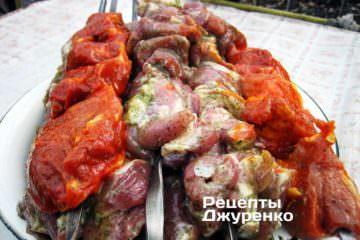 Маринад з томатом