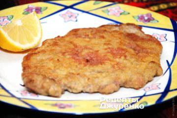 Віденський шніцель - королівська страва