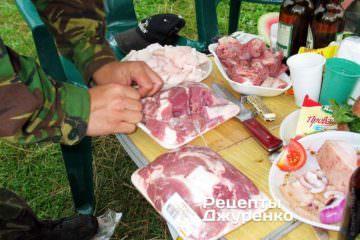 Свинина і телятина для бограчу