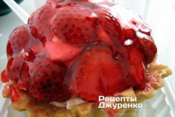 полуниця в желе