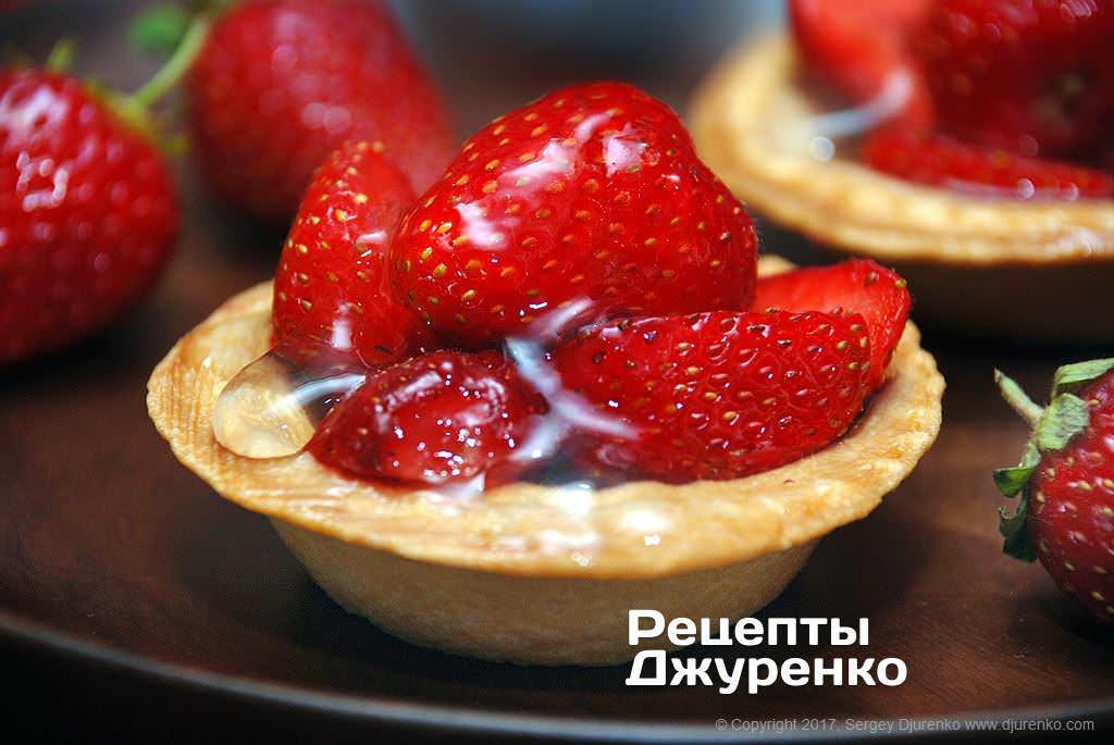 десерт з полуницею фото рецепту