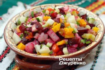 Фото до рецепту: вінегрет