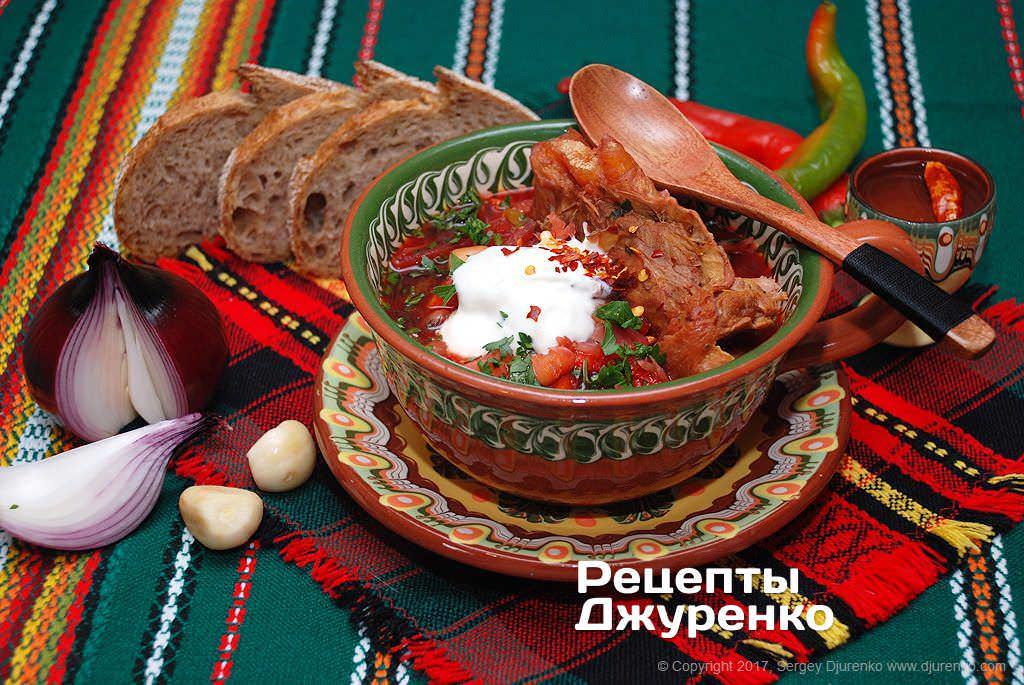 Самый вкусный рецепт украинского борща 9