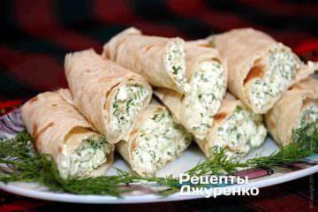 Сир з часником - прекрасна закуска
