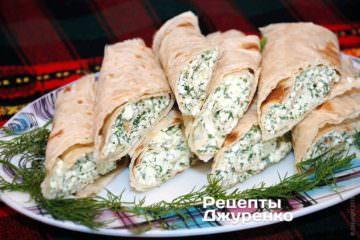 Фото до рецепту: сир з часником