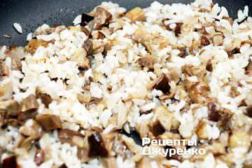додати промитий рис