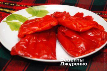 Испечь боргарские перцы