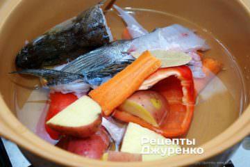 рибний бульйон