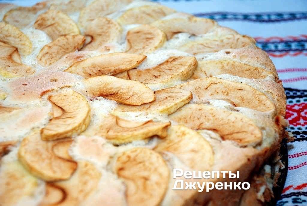 рецепти шарлотки з яблуками з фото