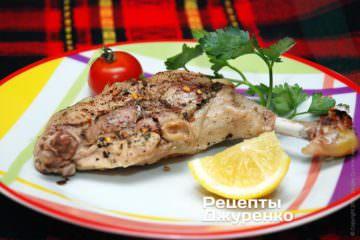 Фото рецепта курица в фольге