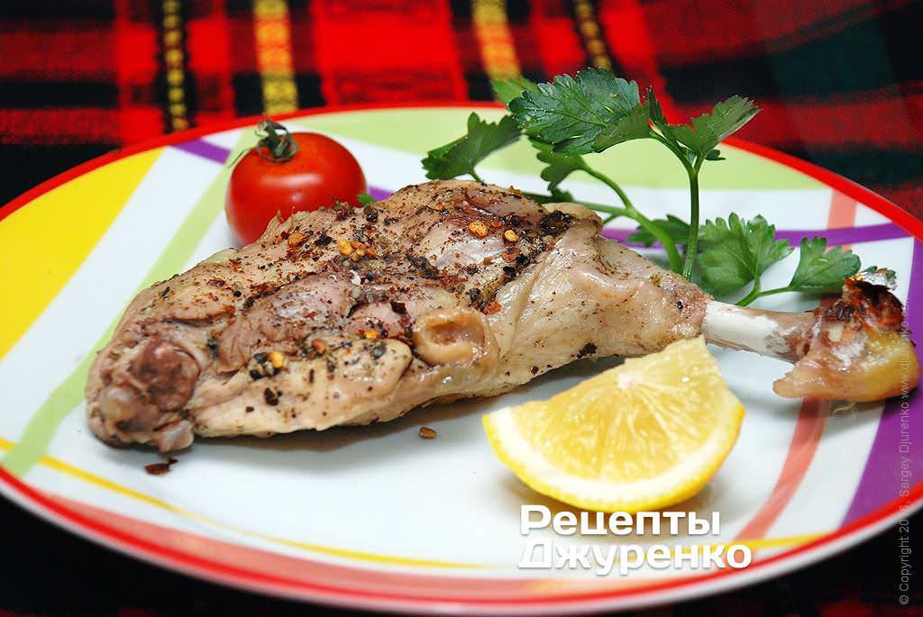 курица в фольге фото рецепта