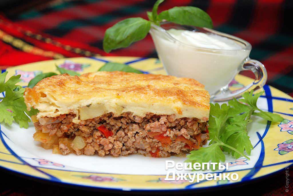 мусака по-болгарски фото рецепта