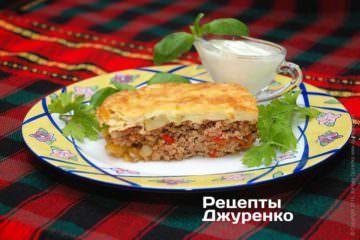 Фото рецепта мусака по-болгарски