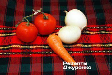Овочі для начинки