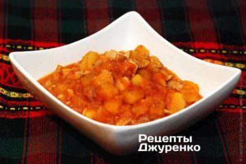 Курка з картоплею