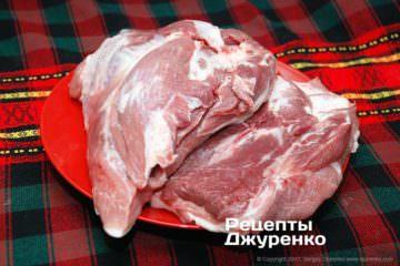 свинина для колбасы