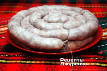 колбаса должна остыть