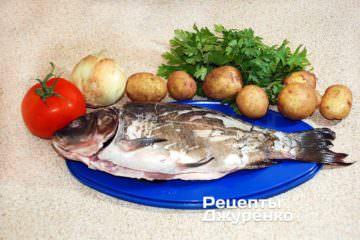 Рыба и овощи