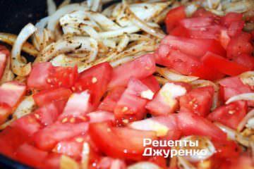 Поджарить овощи для гарнира