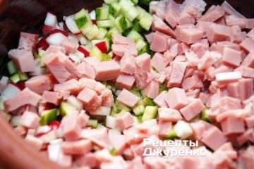 окрошка,окрошка рецепт,окрошка на квасе,как приготовить окрошку,окрошка рецепт на квасе,окрошка рецепт с фото,окрошка с колбасой,как сделать окрошку,как делать окрошку,окрошка состав