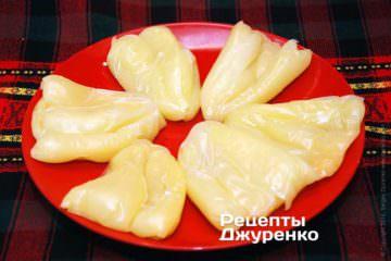 Испечь перцы в микроволновой печи