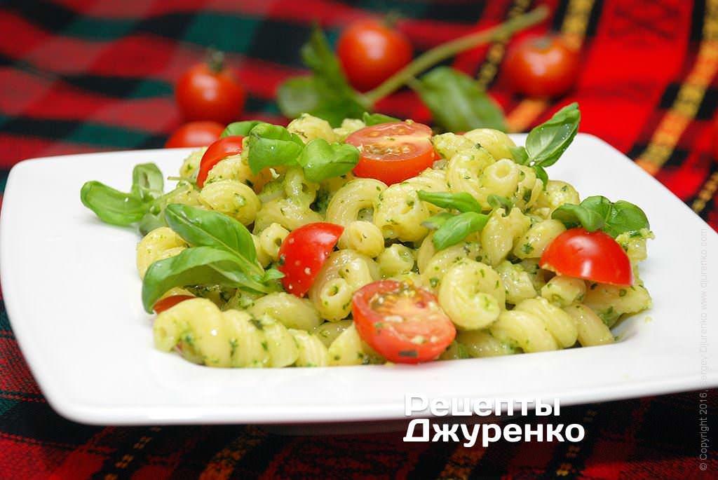 паста с базиликом и помидорами фото рецепта