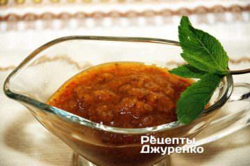 Фото рецепта соус ткемалі