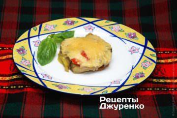 Фото до рецепту: асорті з овочів під сиром