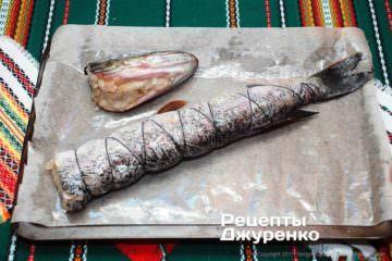 риба на деку