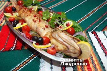 Фото до рецепту: фарширована щука