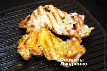 намазать курицу желтком