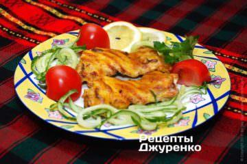 Фото рецепта курица на гриле «ала-тоо»