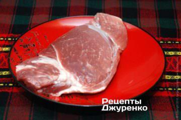 Нежирная свинина