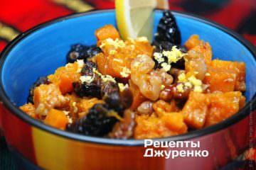 Полити десерт натуральним медом