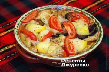 Запечь салат в духовке