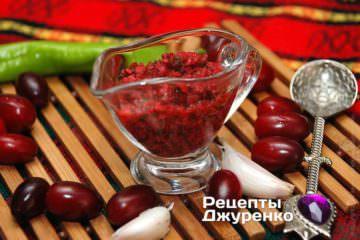 кизиловый соус