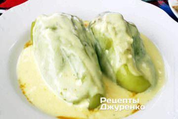 Фото рецепта фаршированные перцы запеченные в духовке