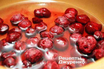 Сварить вишневый компот