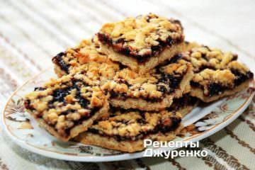 Фото рецепта тертий пиріг