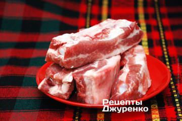Свинячі ребра