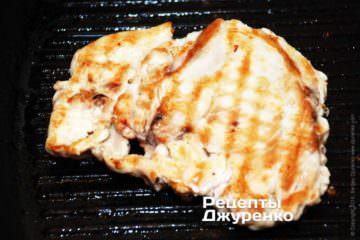 обжарить филе