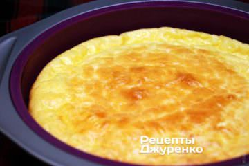 Запечь омлет
