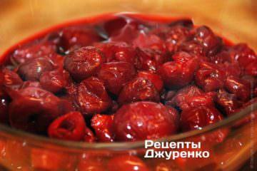 Свежемороженные вишни без косточек
